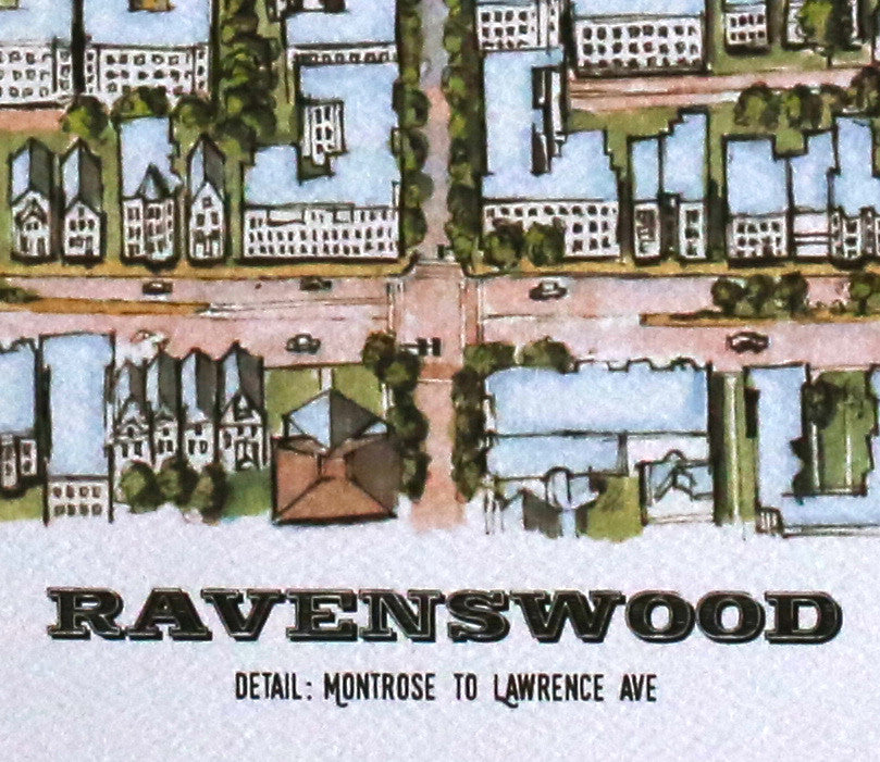 Bird's Eye View: Ravenswood • Detail