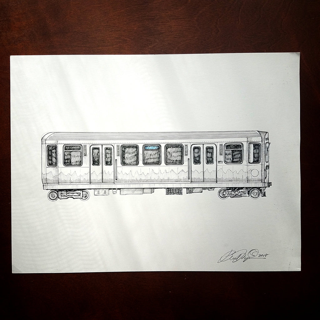 "Rolling Stock of the ""L"" - Original Drawings"