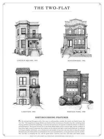 Home Styles Series: Bungalow / Greystone / Two-Flat / Cottage