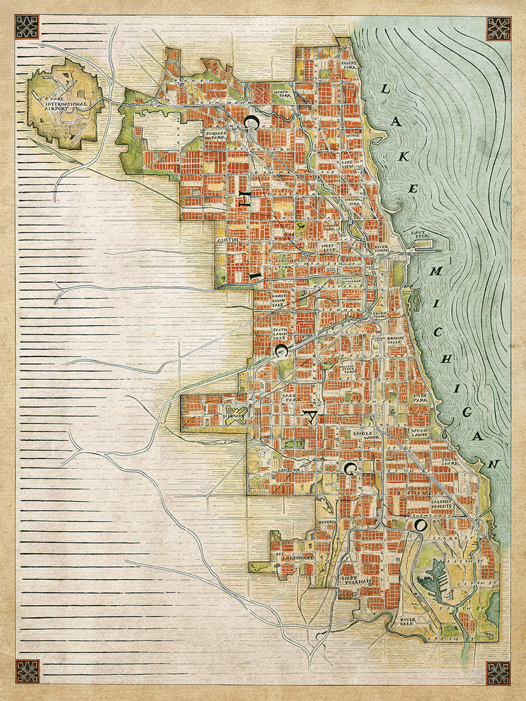 Chicago Renaissance Map