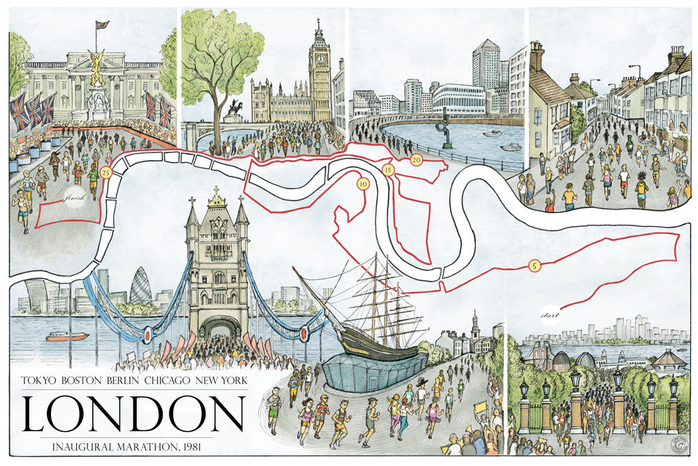 London: The Marathon Map