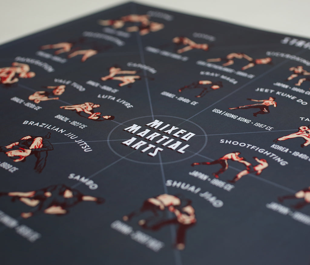 Mixed Martial Arts: A Style Guide (dark color)