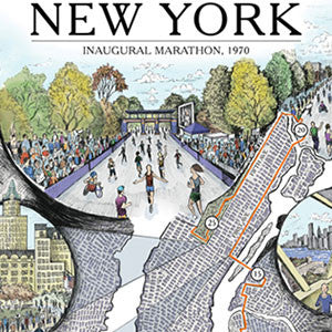 New York: The Marathon Map