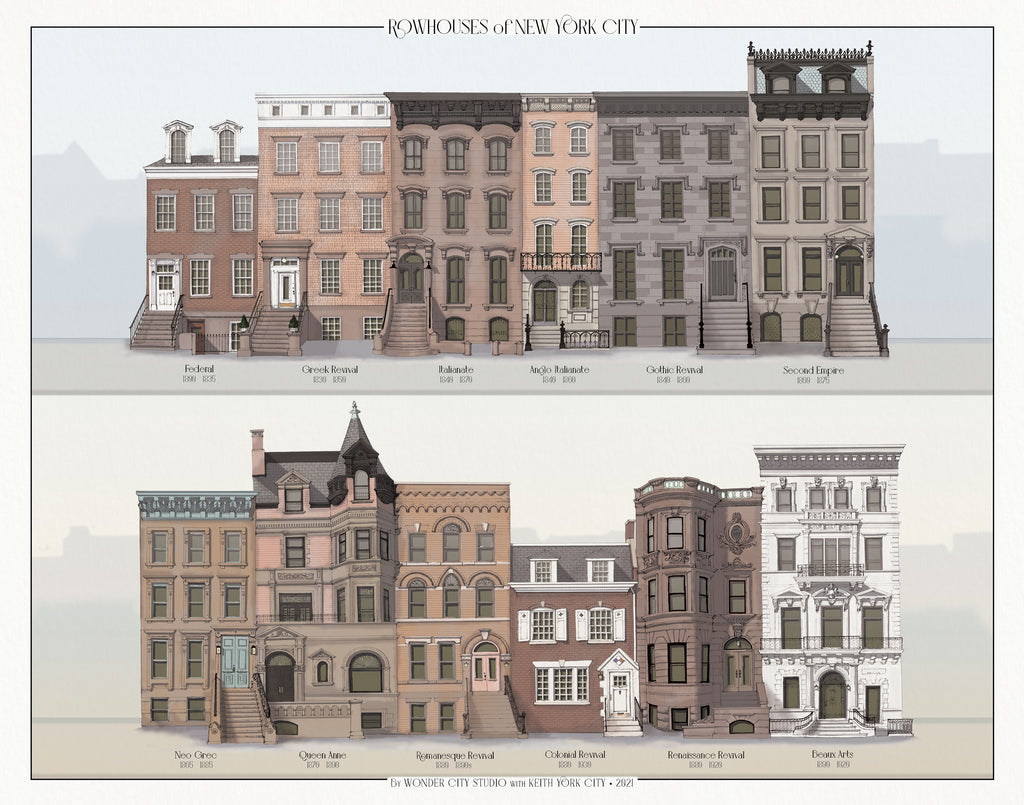 Rowhouses of New York City [now available!]