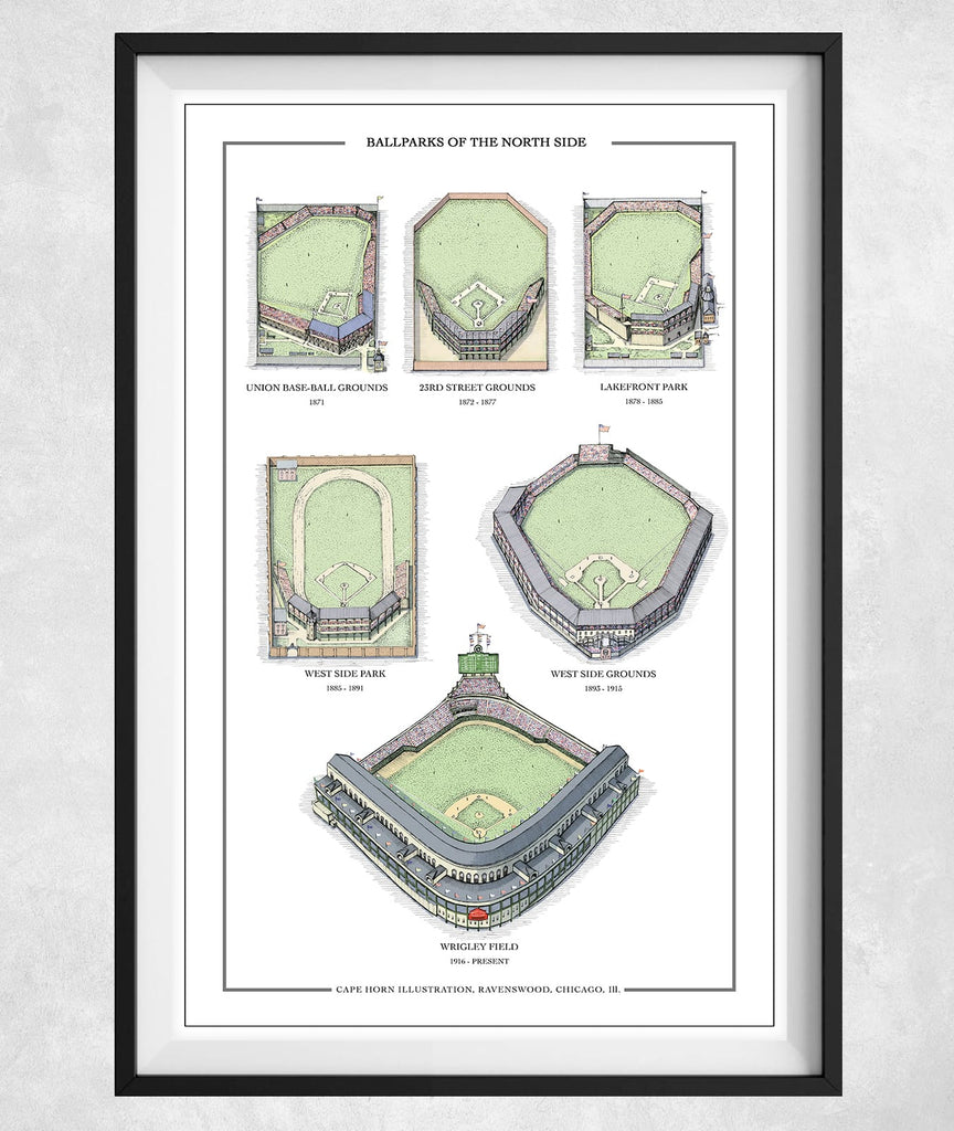 Ballparks of the North Side