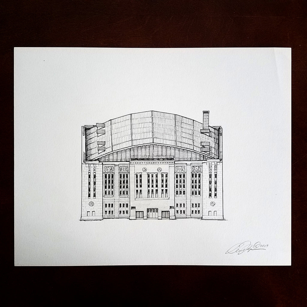 The Stadium Series: Original Drawings