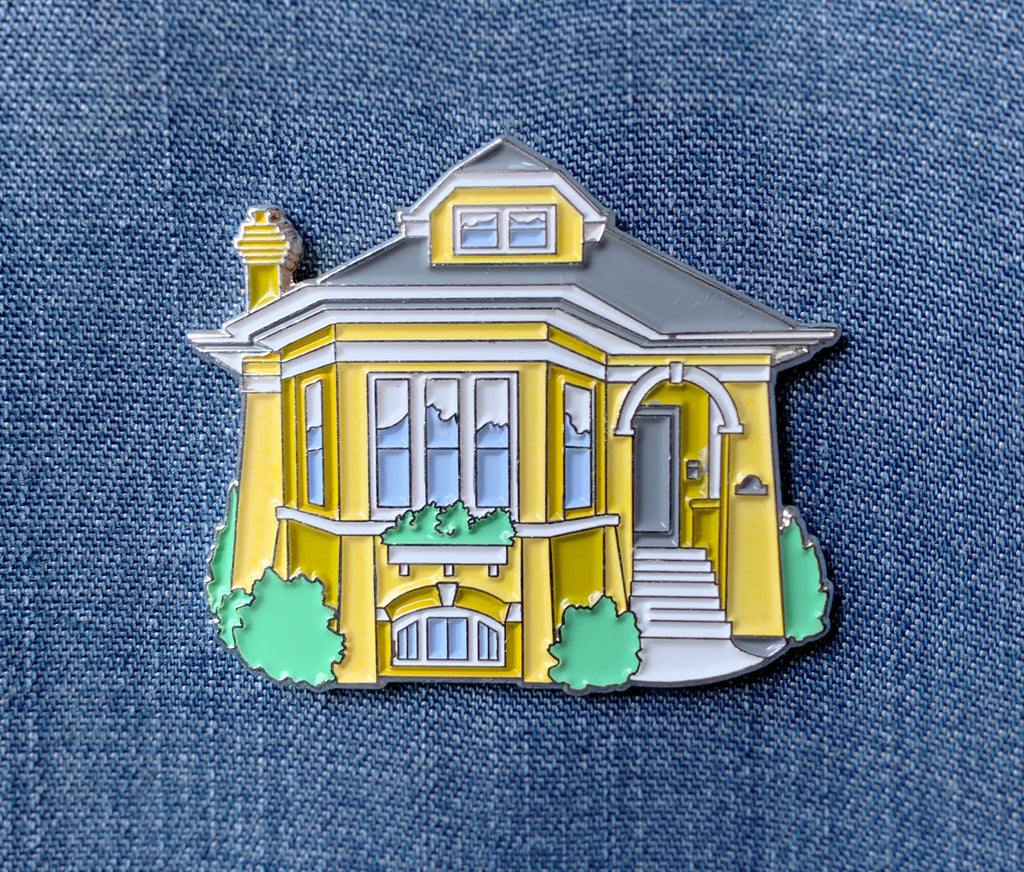 Chicago Bungalow Pin
