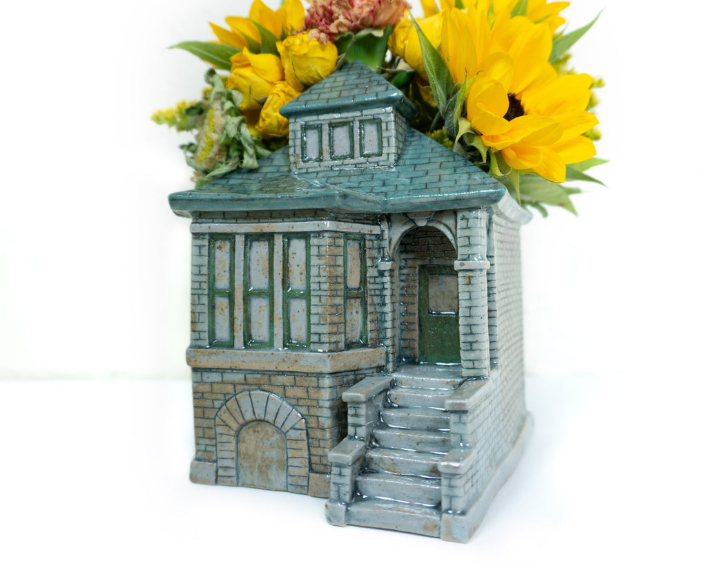 Ceramic Bungalow Planter