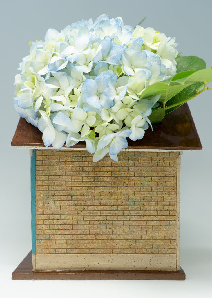 Cottage Planter - Blue