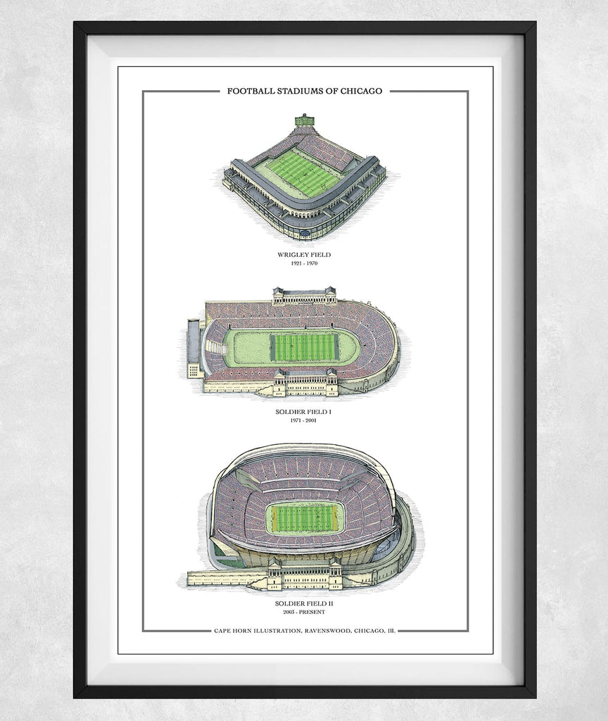 Football Stadiums of Chicago