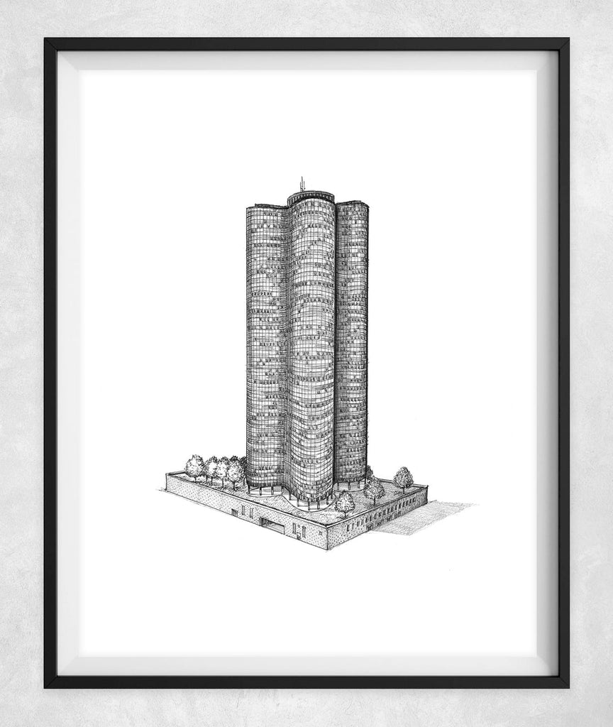 Lake Point Tower drawing
