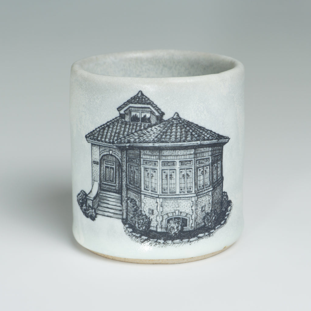 Bungalow Mugs - Matte Gray