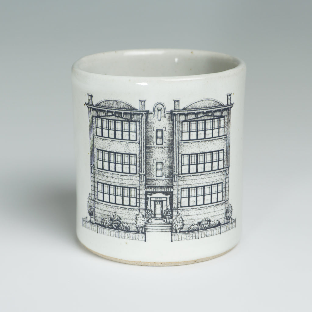 Six-Flat Mugs - Gloss White