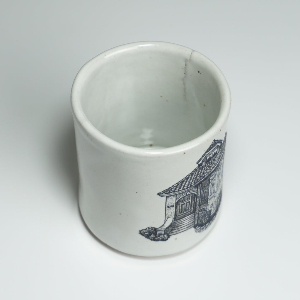 Bungalow Mugs - Gloss White