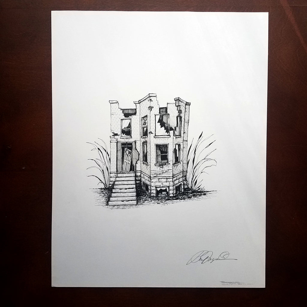 Imagined Places: Original Drawings