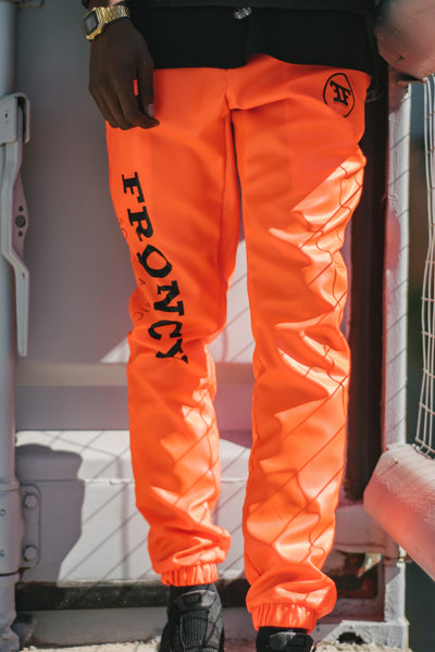 Orange Trackpants