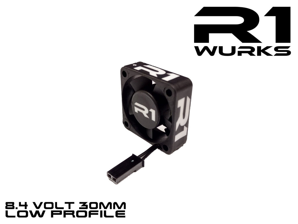 R1 WURKS 8.4V PREMIUM 30MM LOW PROFILE FAN