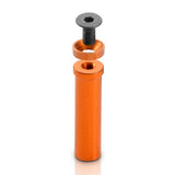 XRAY T4  Aluminum Top Deck Mount (Orange) - GRIPWORKS RC