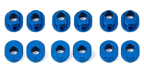 RC12R6 FT Track Width Bushings, aluminum - GRIPWORKS RC