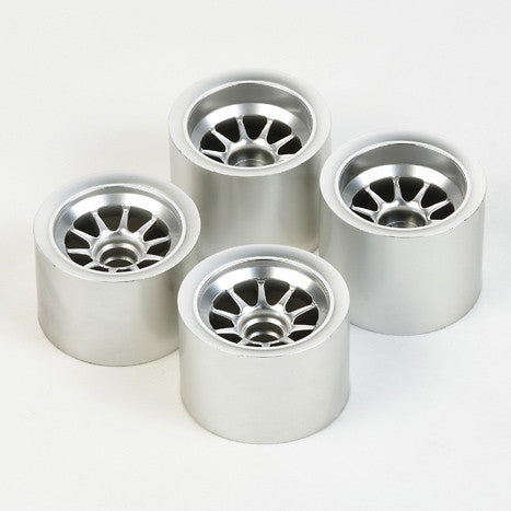 F104 Metal Plated Wheels (For Sponge Tires) - GRIPWORKS RC