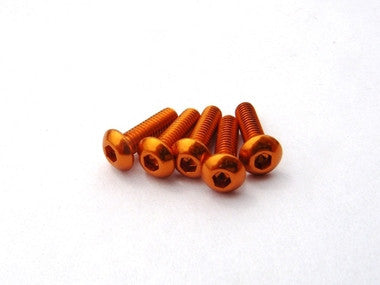 HIRO SEIKO ALLOY HEX SOCKET BUTTON HEAD SCREW [ ORANGE]