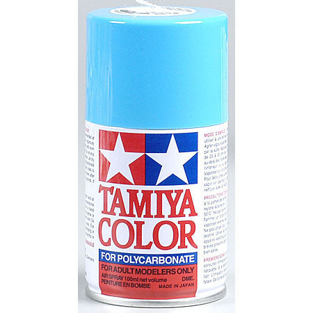 Tamiya PS-3 Polycarbonate Spray Paint Light Blue 3 oz
