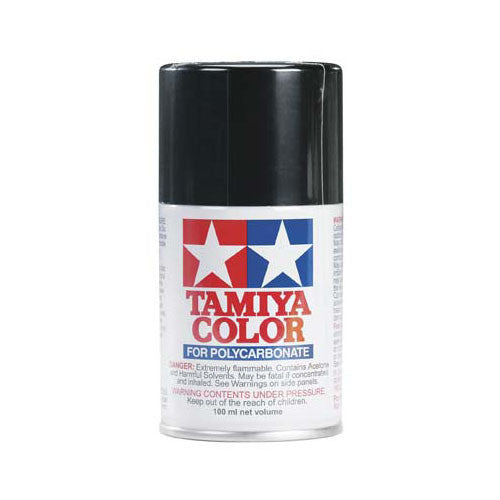 Tamiya PS-5 Polycarbonate Spray Paint Black 3 oz