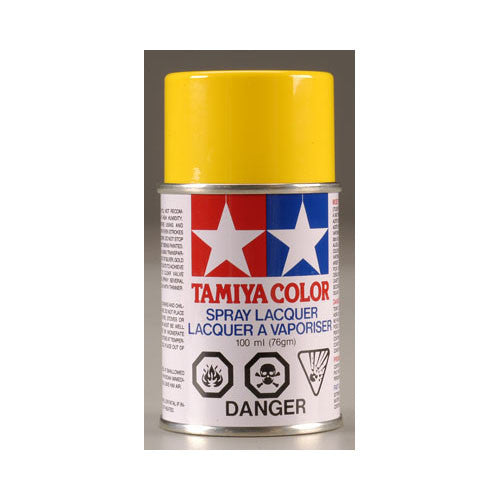 Tamiya PS-6 Polycarbonate Spray Paint Yellow 3oz