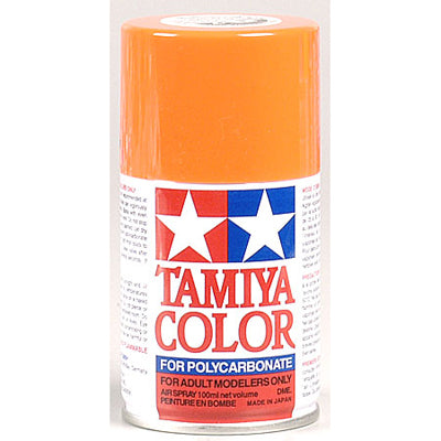 Tamiya PS-7 Polycarbonate Spray Orange 3 oz