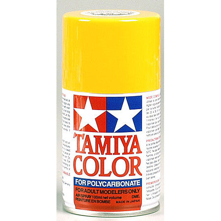 Tamiya PS-19 Polycarbonate Spray Paint  Camel Yellow 3oz