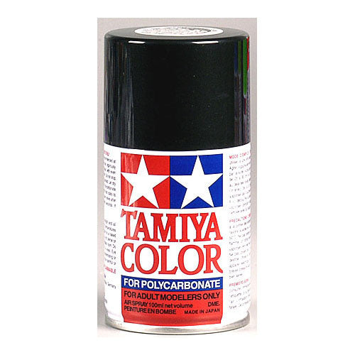 Tamiya PS-23 Polycarbonate Spray Paint Gunmetal 3oz - GRIPWORKS RC