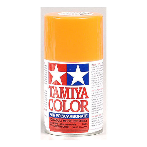 Tamiya PS-24 Polycarb Spray Fluorescent Orange Paint 3 oz