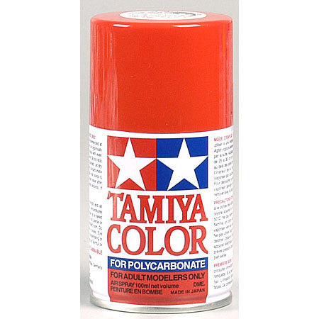 Tamiya PS-34 Polycarbonate Spray Paint Bright Red 3oz - GRIPWORKS RC