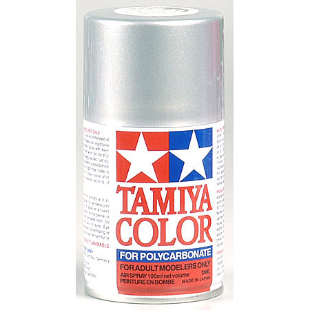 Tamiya PS-41 Polycarb Spray Bright Silver 3 oz