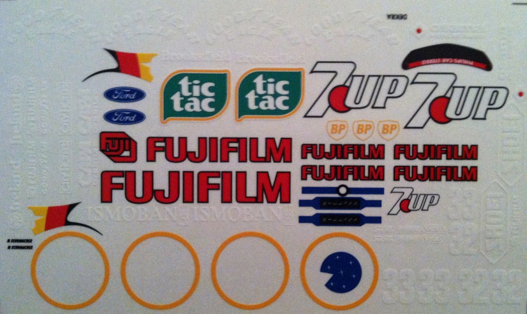 F1PAINTLAB F1 DECAL SHEET (JORDAN 191)