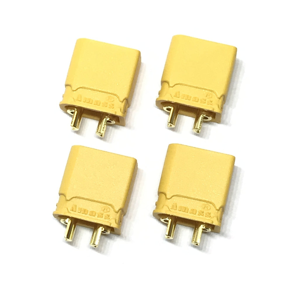 MACLAN XT30U CONNECTORS (4 MALE)