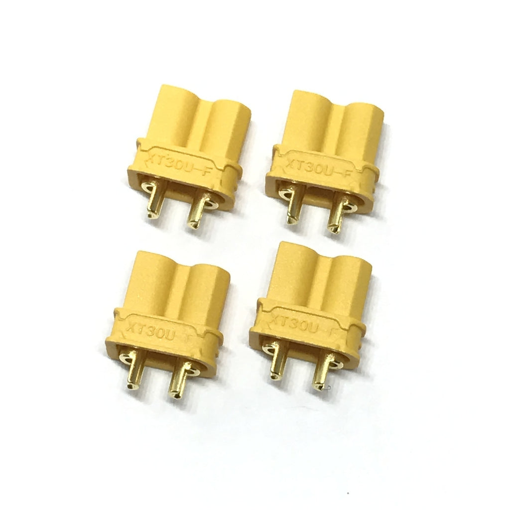 MACLAN XT30U CONNECTORS ( 4 FEMALE)