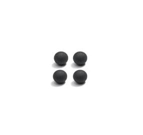 P45R - RUBBER BALLS FOR D2.2 DAMPERS (4)