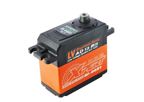 "XPERT RC SI-4431 ALUMINUM CASE ""HIGH TORQUE"" BRUSHLESS SERVO"