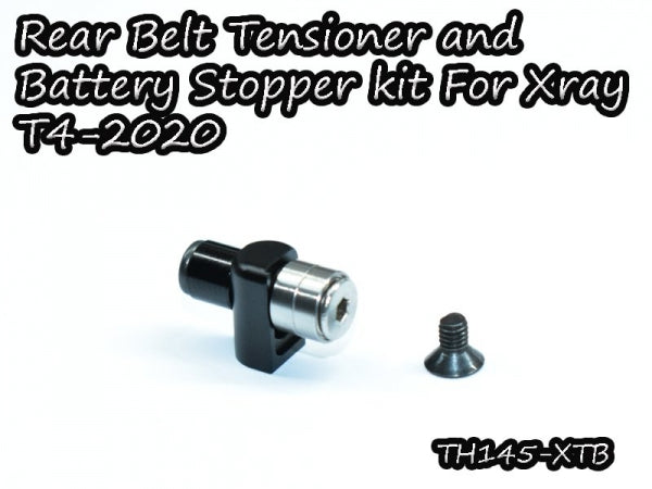 Vigor Rear Belt Tensioner and Battery Stopper Kit for Xray T4-2020