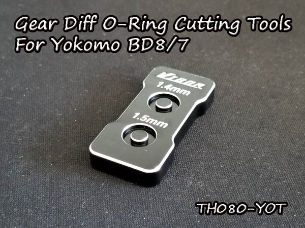 Vigor 3,0mm Gear Diff O-Ring Cutting Tools For Yokomo BD8/7