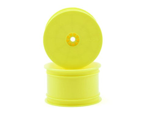 "AKA 12mm Hex ""HEXlite"" 2.2 Rear Wheels (2) (B6/22/RB6/ZX6) (Yellow) - GRIPWORKS RC"