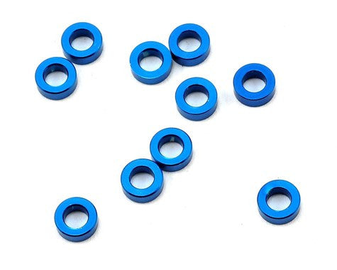 Team Associated 5.5x2.0mm Aluminum Ball Stud Washer (Blue) (10) - GRIPWORKS RC