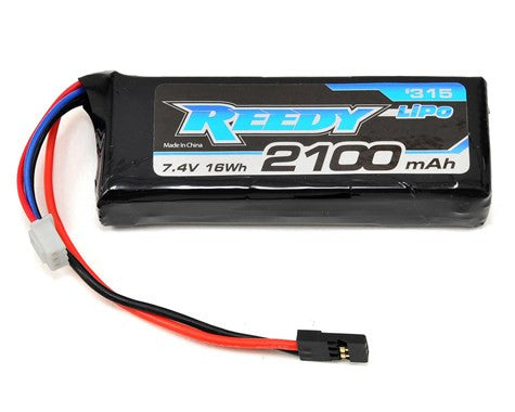 Reedy 2S LiPo Flat Receiver Battery Pack w/Balancer Plug (7.4V/2100mAh) - GRIPWORKS RC