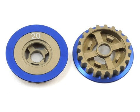 Team Associated Aluminum Factory Team TC Spur Gear Pulley - GRIPWORKS RC