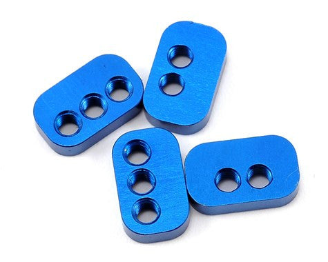 Team Associated Aluminum Rear Hub Link Nut Set