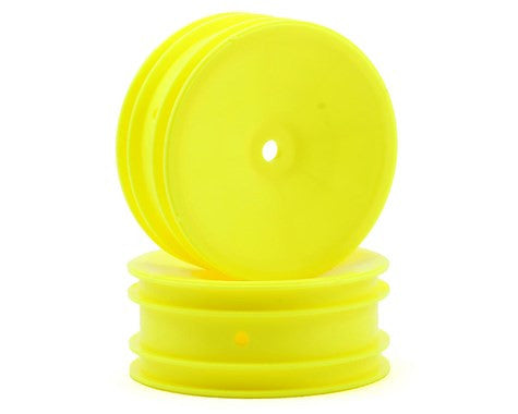 Team Associated 12mm Hex 2.2 Front Buggy Wheels (2) (B5) (Yellow) - GRIPWORKS RC