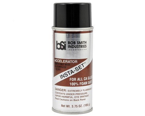 Bob Smith Industries INSTA-SET Foam Safe Accelerator Aerosol Spray (3.75oz)
