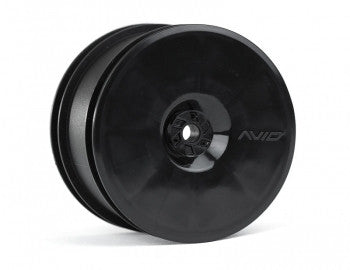 Satellite Rear Wheel (B5, 22, RB5) | 12mm Hex | Black Pair - GRIPWORKS RC