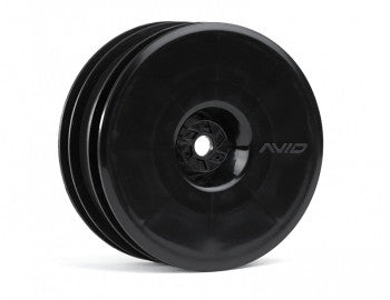 Satellite Front Wheel (B5, RB5) | 12mm Hex | Black Pair - GRIPWORKS RC